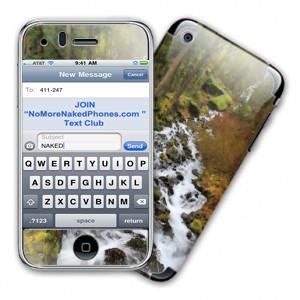 Text Club for NoMoreNakedPhones.com