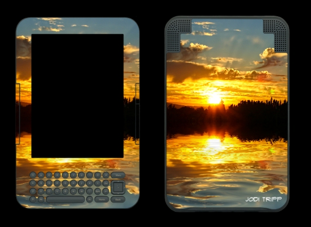 Summer Sunset Reflected